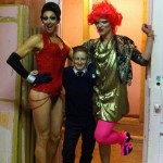 with Billy l'amour and peaches